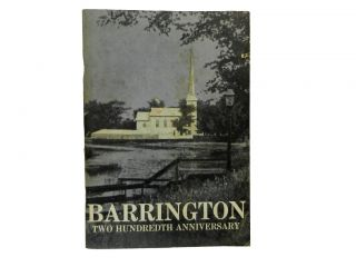 Barrington Two Hundredth Anniversary