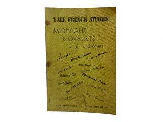 Yale French Studies 24:; Midnight Novelists and Others