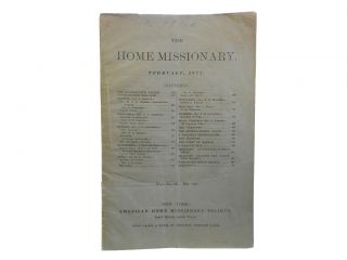 The Home Missionary. February, 1877, Vol. XLIX, No. 10