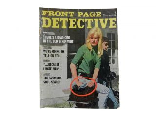 Front Page Detective Vol. 31, No. 5, May, 1967