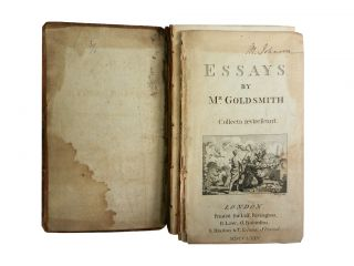 Essays by Mr. Goldsmith:; Collecta Revirescunt