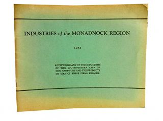 Industries of the Monadnock Region