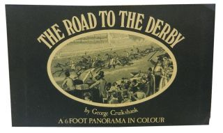 The Road to the Derby. George Cruikshank